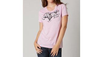 Fox Headset T-Shirt kurzarm Damen-T-Shirt Crew Neck Gr. L sweet pea