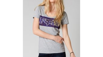 Fox Siren Scoop camiseta de manga corta Señoras-camiseta heather grey