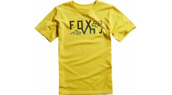 Fox Ridge T-Shirt kurzarm Kinder-T-Shirt Boys Gr. 152/164 (XL) heather yellow