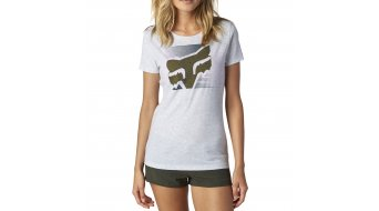 Fox Crossed Up camiseta de manga corta Señoras-camiseta Crew Neck