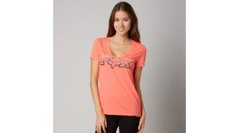 Fox Fascinate T-Shirt kurzarm Damen-T-Shirt V-Neck