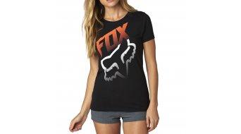 Fox Hidden T-Shirt kurzarm Damen-T-Shirt Crew Neck Gr. L black