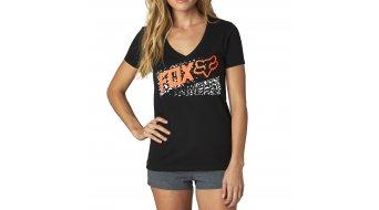 Fox Standby T-Shirt kurzarm Damen-T-Shirt V-Neck black
