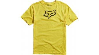 Fox Legacy T-Shirt kurzarm Kinder-T-Shirt Youth Gr. 122/128 (YS) yellow