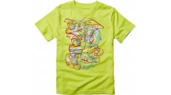 Fox Moon Blaze T-Shirt kurzarm Kinder-T-Shirt Kids flo yellow