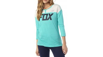 Fox Matrixx camiseta manga larga Señoras-camiseta Womens Henley Tee splash