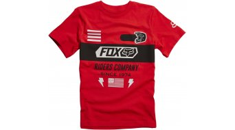 Fox Osage T-Shirt kurzarm Kinder-T-Shirt Youth Tee flame red
