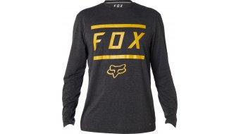 Fox Listless Tech T-Shirt 长袖 男士 型号 heather black
