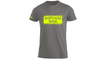 HIBIKE Hauptsache Biken. T-shirt short sleeve men-T-shirt grey/neon