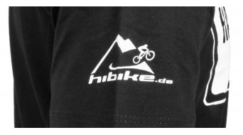 "HIBIKE ""La bici. Lo principal ."" camiseta de manga corta tamaño XL negro(-a)/blanco(-a) (Hakro 295)"