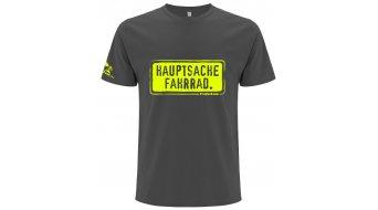 "HIBIKE ""Hauptsache Fahrrad."" T-shirt short sleeve graphit (Hakro 295)"