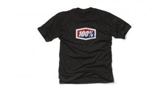 100% Official T-Shirt kurzarm Gr. S black