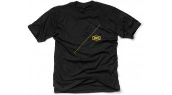 100% Airline T-Shirt kurzarm Gr. S black