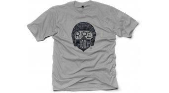 100% Barstow Glory T-Shirt kurzarm Gr. S silver