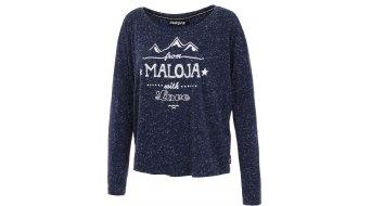 Maloja ElinM. T-shirt long sleeve ladies-T-shirt longsleeve deep ocean