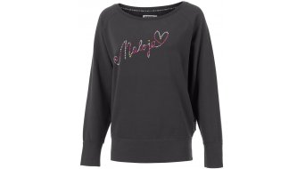 Maloja CullyM. t-shirt manches longues femmes-t-shirt taille M charcoal- Sample
