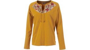 Maloja HoquartenM. t-shirt manches longues femmes-t-shirt taille M mustard- Sample