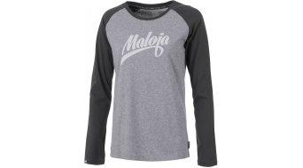 Maloja SellwoodM. T-camiseta manga larga Señoras-camiseta tamaño M grey melange- Sample