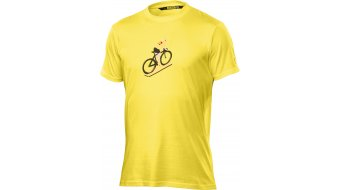 Mavic Le Cycliste T-Shirt kurzarm Herren-T-Shirt yellow mavic
