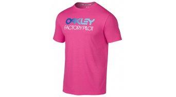 Oakley Shifter camiseta de manga corta Caballeros-camiseta tamaño S fuchsia (Regular Fit)
