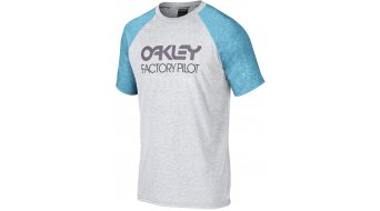 Oakley Hop camiseta de manga corta Caballeros-camiseta tamaño S heather grey (Regular Fit)