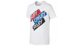 Oakley Triple Octane T-Shirt kurzarm Herren-T-Shirt Gr. S white
