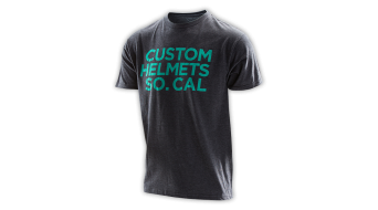Troy Lee Designs Custom Helmets T-Shirt kurzarm Herren-T-Shirt heather Mod. 2016