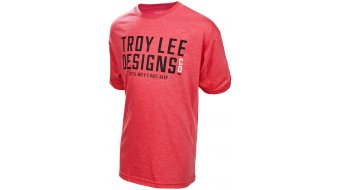 Troy Lee Designs Step Up camiseta de manga corta niños-camiseta heather
