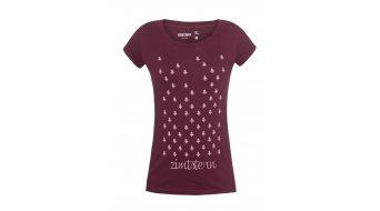 Zimtstern TSW Treez camiseta de manga corta Señoras-camiseta tamaño M ruby wine- modelos de demonstración sin sichtbare Mängel