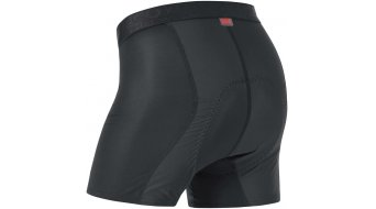 GORE Bike Wear Base Layer Unterhose kurz Herren-Unterhose Windstopper Boxer Short+ (Contest Men-Sitzpolster) Gr. S black