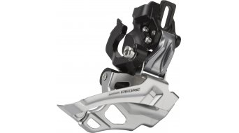 Shimano Deore 2x10 vel. deragliatore Direct-Mount Down-Swing Dual-Pull 44-38T 66-69° FD-M616-D (imballo originale)