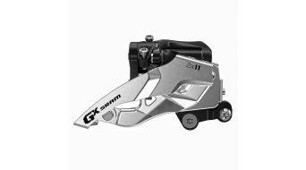 SRAM GX 2x11 desviador delantero Direct Mount 24/36 Zähne Pull negro(-a)/color plata