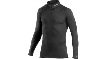 Craft Active Extreme Zip Turtleneck camiseta manga larga Caballeros-camiseta long sleeve negro/platinum