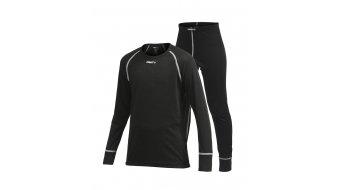 Craft Warm Multi 2-Pack camiseta/-latiguillo juego largo(-a) niños-camiseta/-latiguillo tamaño 122 negro