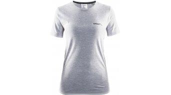 Craft Active Comfort Roundneck camiseta de manga corta Señoras-camiseta tamaño XS grey melange