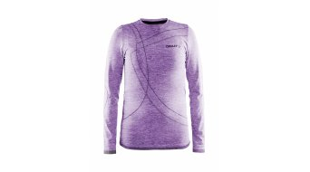 Craft Active Comfort Roundneck Unterhemd langarm Kinder-Unterhemd lilac/gecko