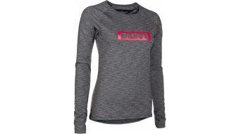 ION Base Stratify WMS camiseta manga larga Señoras-camiseta dark grey melange