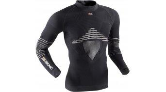 X-Bionic Energizer MK2 sottomaglia manica lunga uomini-sottomaglia Turtle Neck mis. L/XL black/white