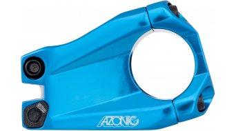 Azonic Baretta Evo attacco manubrio 1 1/8 31.8x40mm blue mod. 2016