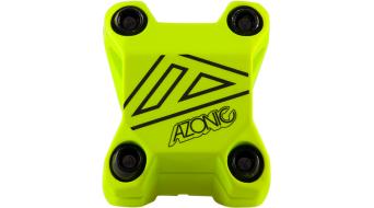 Azonic Baretta Evo attacco manubrio 1 1/8 31.8x40mm neon yellow mod. 2016