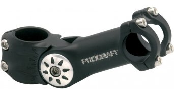 Procraft 4Bolt Adjustable Ahead 31.8 potencia, 70°-130°, negro(-a)