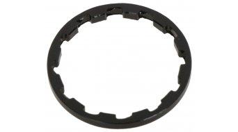 Vorbauspacer 1 1/8 3mm schwarz Aluminium