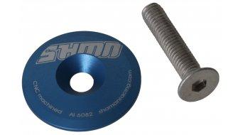 Shaman Top Cup für Steuersatz 1 1/8 0mm blue