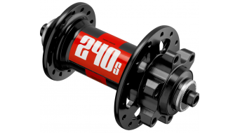 DT Swiss 240S Disc MTB buje rueda delantera Loch QR 5x100mm IS 6 agujeros negro(-a)