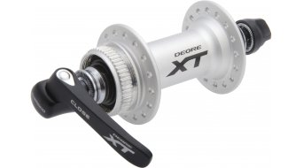 Shimano XT HB-M785 Disc buje rueda delantera color plata QR Center-Lock (Embalaje RETAIL)