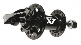 SRAM X7 Disc buje rueda delantera 32 Loch 9x100mm IS2000 negro