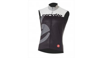 Cervélo Aero Race Weste Herren-Weste Windweste black/white/grey