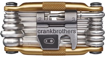 Crank Brothers multi 19 Multitool attrezzo incl. Tool Case