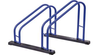 Cyclus Tools bici cavalletto Duo blu/nero