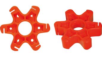Cyclus Tools Gegenhalter per Aero- raggi rosso